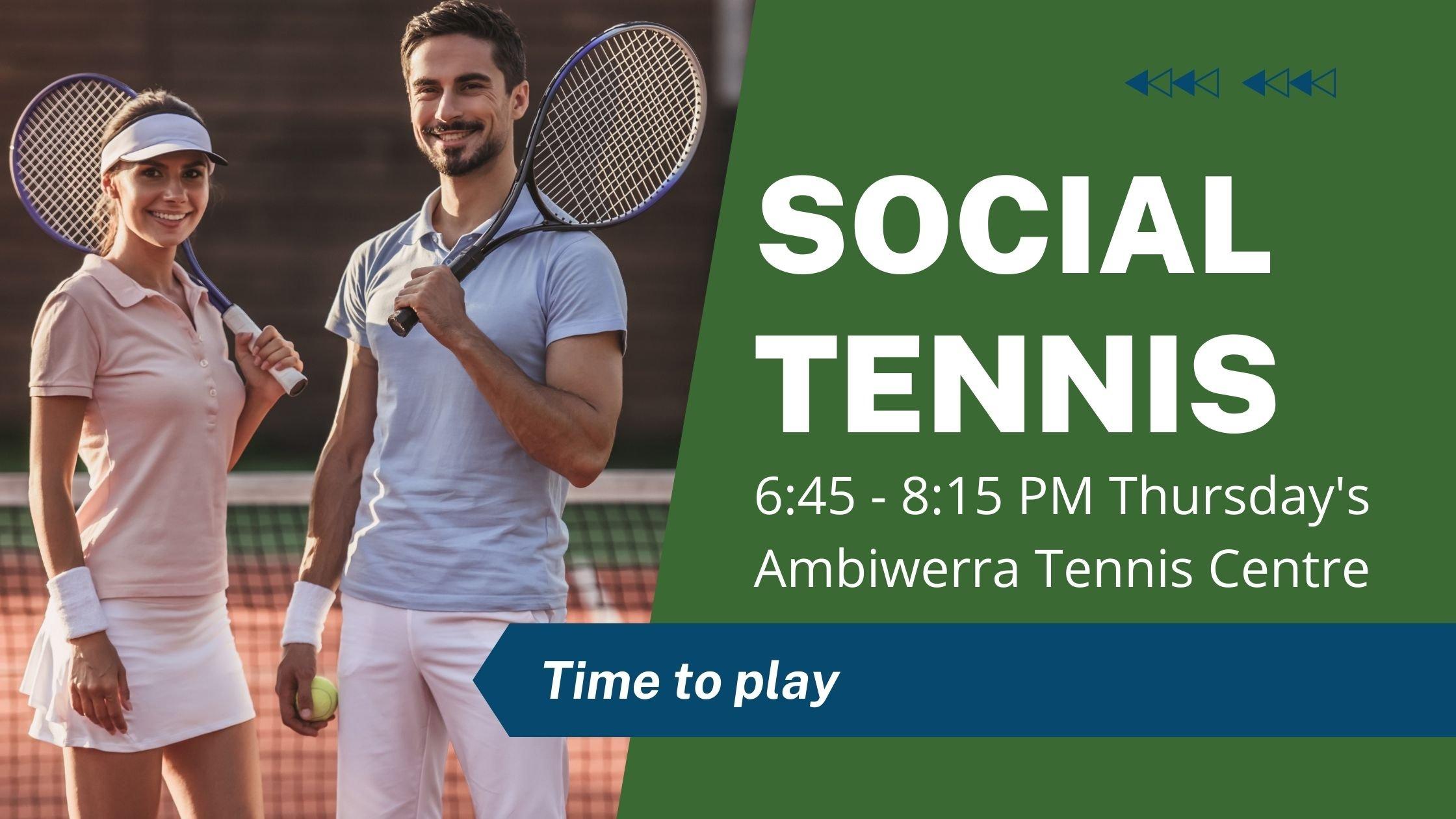 Social Tennis 3