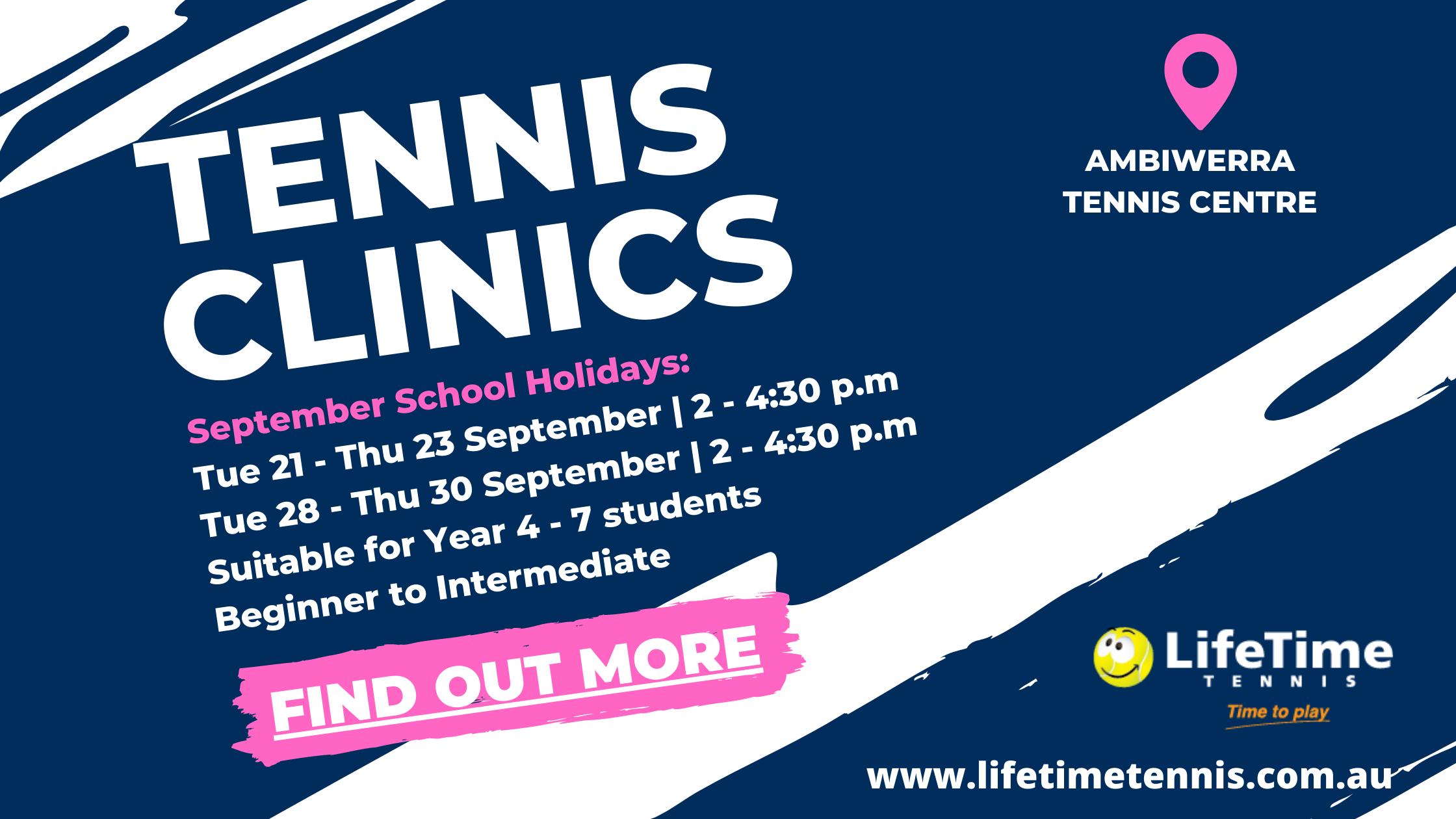 St Aidans Total Tennis Clinic-1